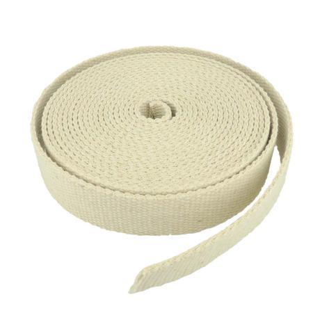 Sangle coton couleur LIN - Largeur 30 mm - 5 mètres