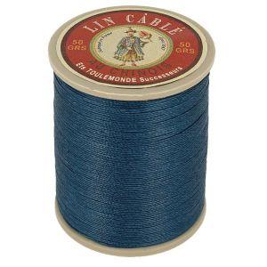Bobine fil de lin au chinois câblé glacé - 632 - BLEU - 266