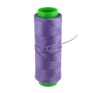 Bobine de fil polyester tressé et ciré - 100 mètres - diam 1 mm - PARME