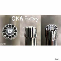 Matoir sur manche OKA - Background 13 ronds 5mm - A800
