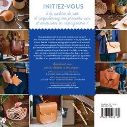 """Livre """"Apprendre à coudre le cuir à la main et à la machine"""" - Julie KANSARA"""
