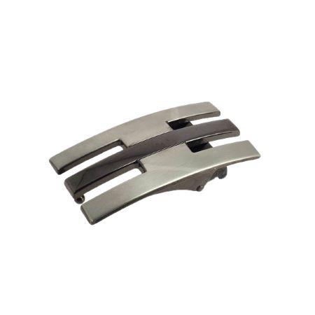 Boucle de ceinture à griffe ANAN - NICKELÉ SATINÉ - 30 mm