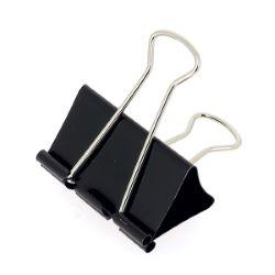 Lot de 10 pinces double clip - largeur 51 mm - NOIR