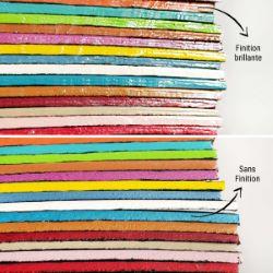 Finition BRILLANTE pour teinture de tranche - Deco Cuir - 60 ml