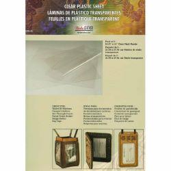Lot de 3 feuilles de plastique transparent  - TANDY LEATHER - 3498-00