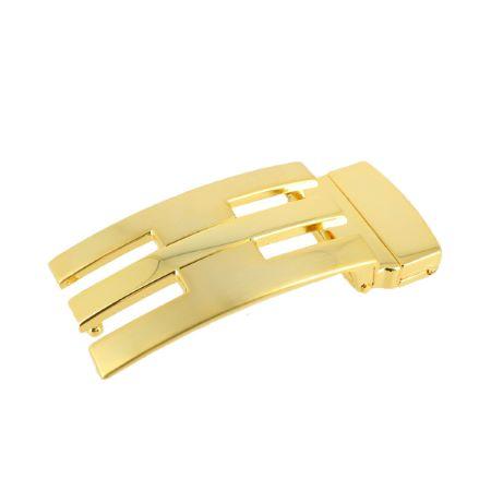 Boucle de ceinture à griffe OANA - DORÉ LUXE - 35 mm