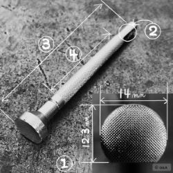 Matoir sur manche OKA - Figure Carving 14mm - F901