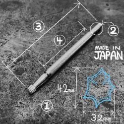 Matoir sur manche OKA - Figure Carving 3,2mm - F989