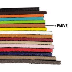 Finition de tranche FAUVE MAT - Deco Cuir - 60 ml
