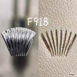 Matoir sur manche OKA - Figure Carving strié vertical - F918
