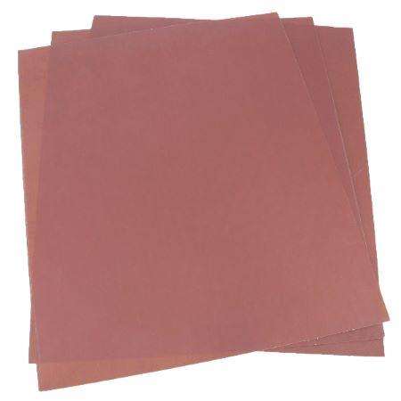 Lot de 3 feuilles abrasives - Papier de verre - 230x280mm
