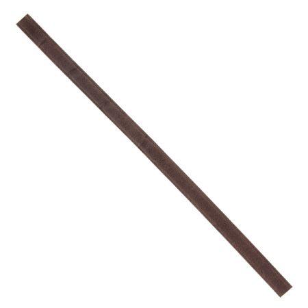 Lanière pour passant de ceinture en cuir gras tannage végétal 30cm