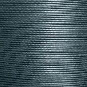 Cartonnette de 8m de fil de lin ciré MeiSi super fine M60 - 0,65 mm - GRIS SOURIS - MS087