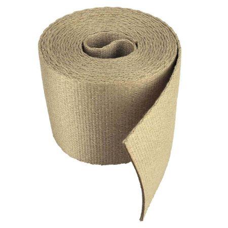 Sangle coton BEIGE - Largeur 65 mm - 3 mètres