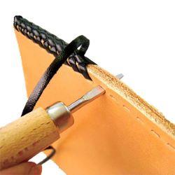 Alêne agrandisseur de trous pour laçage de cuir - SEIWA Japon