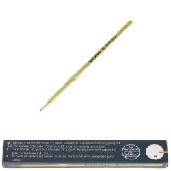 Une recharge argent pour stylo Deco Cuir