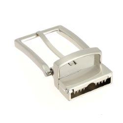 Boucle de ceinture à griffe réversible INA - NICKELÉ SATINÉ - 30 mm