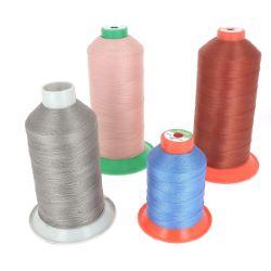 Lot SURPRISE de 1kg de bobines de fil polyester ENTAMÉES - DIVERS