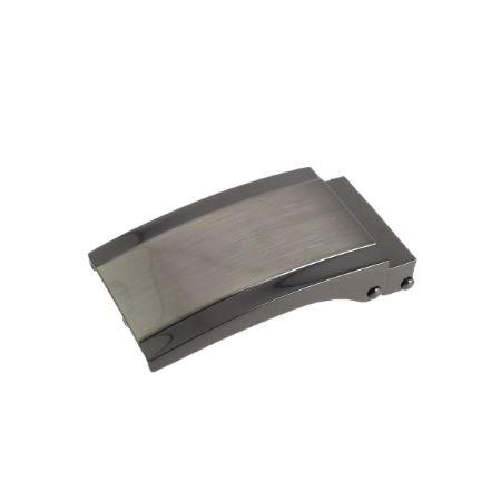 Boucle de ceinture à griffe SOAN - NICKELÉ SATINÉ - 30mm