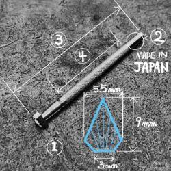 Matoir sur manche OKA - Figure Carving 5,5mm - F916