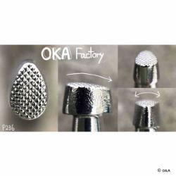 Matoir sur manche OKA - Pear Shader quadrillé 4mm - P236
