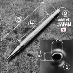 Matoir sur manche OKA - Seeder graine ovale 2mm - S634