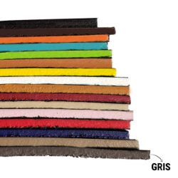 Finition de tranche GRIS MAT - Deco Cuir - 60 ml