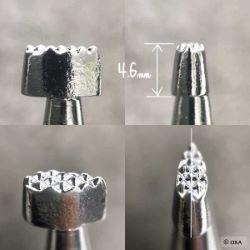 Matoir sur manche OKA - Background grain fort 2,7mm - A888