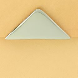 Fermoir sac triangle magnétique 55x25 mm