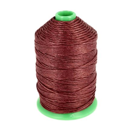 Bobine fil de lin satiné CAMPBELL'S - 232 - d = 0,76 mm - ACAJOU