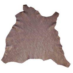 Peau de cuir de chèvre crispé - BRONZE D75