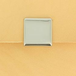 Fermoir sac carré magnétique 23x23 mm