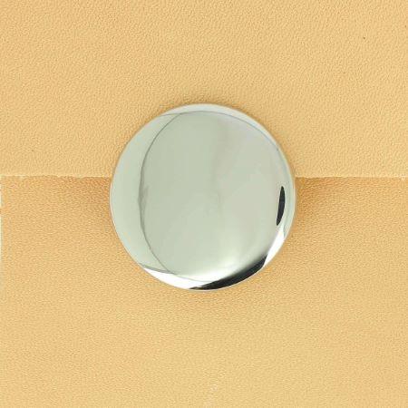 Fermoir sac rond magnétique diamètre 30 mm