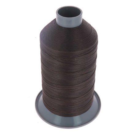 Bobine de fil polyester N°15 - 1000m - CHOCOLAT 4904