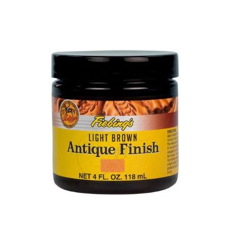 Patine pour le cuir - MARRON CLAIR / LIGHT BROWN - Antique finish Fiebing's