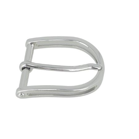 Boucle de ceinture PIO - NICKELÉ - 30 mm