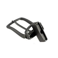 Boucle de ceinture à griffe MILO - GRIS MAT - 30 mm