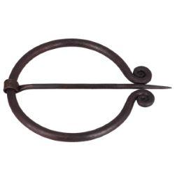 Fibule en acier - HAN - 65mm