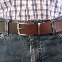 Boucle de ceinture à griffe ALI - CANON DE FUSIL SATINÉ - 35mm