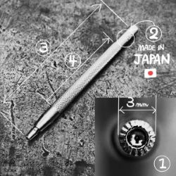 Matoir sur manche OKA - Seeder petit soleil 3mm - S705