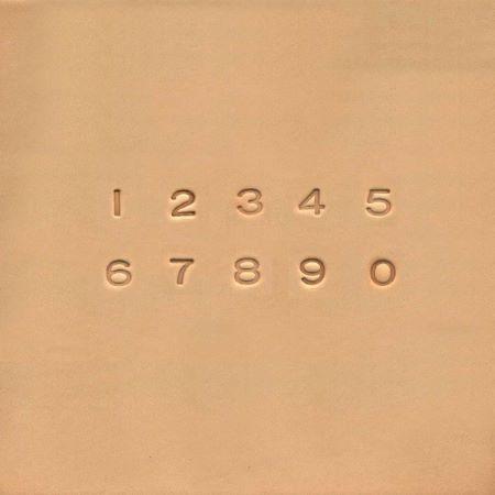 Jeu des 10 chiffres à frapper TANDY LEATHER - 0,63 cm