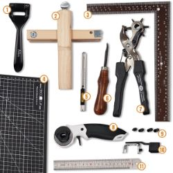 Kit outils de découpe du cuir - Deco Cuir