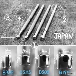 Matoir sur manche OKA - Beveler lisse 7mm - B197