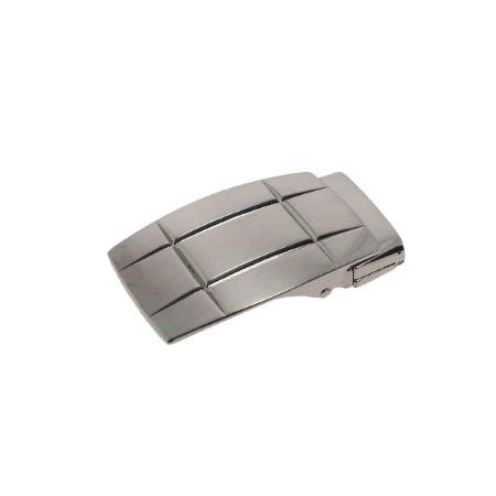 Boucle de ceinture à griffe EVAN - NICKELÉ SATINÉ - 30 mm