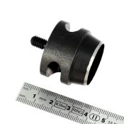 Embout emporte-pièce rond pour presse d'établi - diamètre 24 mm