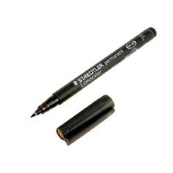 Marqueur Staedtler LUMOCOLOR pointe fine 0,6 mm - permanent - noir