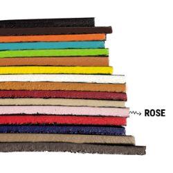 Finition de tranche ROSE PASTEL MAT pour cuir - Deco Cuir - 250 ml