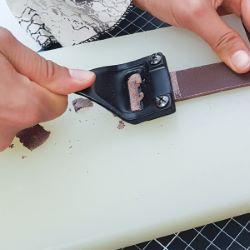 Couteau à parer large CRAFTOOL + 3 lames - 3025