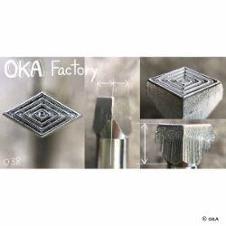 Matoir sur manche OKA - Losanges - O38