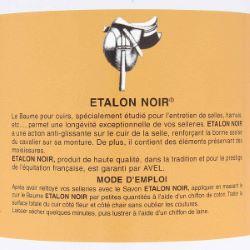 Baume pour cuirs spécial sellerie 500ml ETALON NOIR SAPHIR